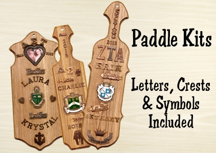 Greek Paddles Amp Wooden Greek Letters For Fraternities