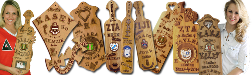 Greek Fraternity Paddle Kits - Greek Sorority Paddle Kits